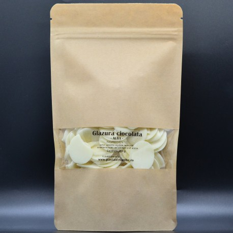 Glazura Ciocolata Alba 200 g