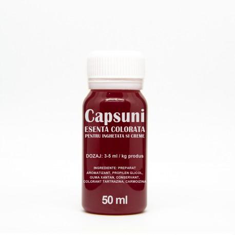 Esenta Colorata CAPSUNA-ROSU 50 ml