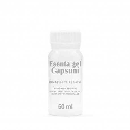 Esenta gel Capsuni 50 ml